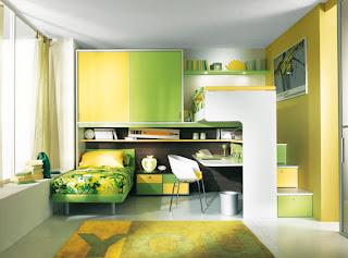 Bedroom interior design child from Sangiorgio
