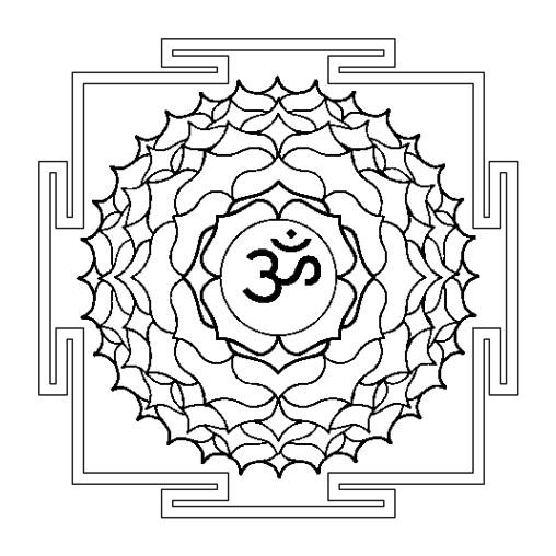 SER CONCIENTES: Mandalas de los chakras para colorear