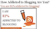 Iam Addicted to Blogging أنا مدمن مدونات