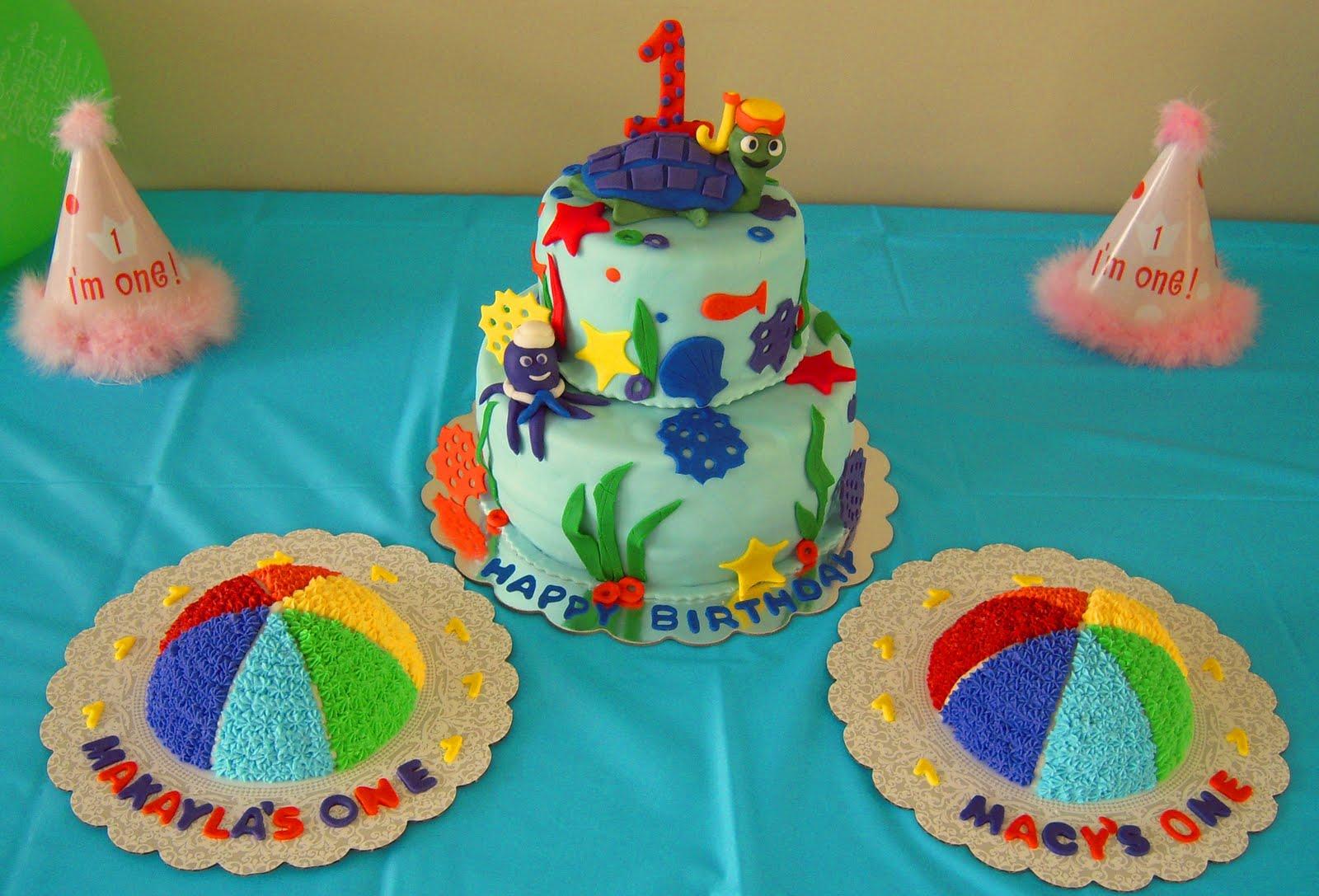 Birthday Cake Images Baby ~ Icing makes the cake: baby einsteins water everywhere birthday cake