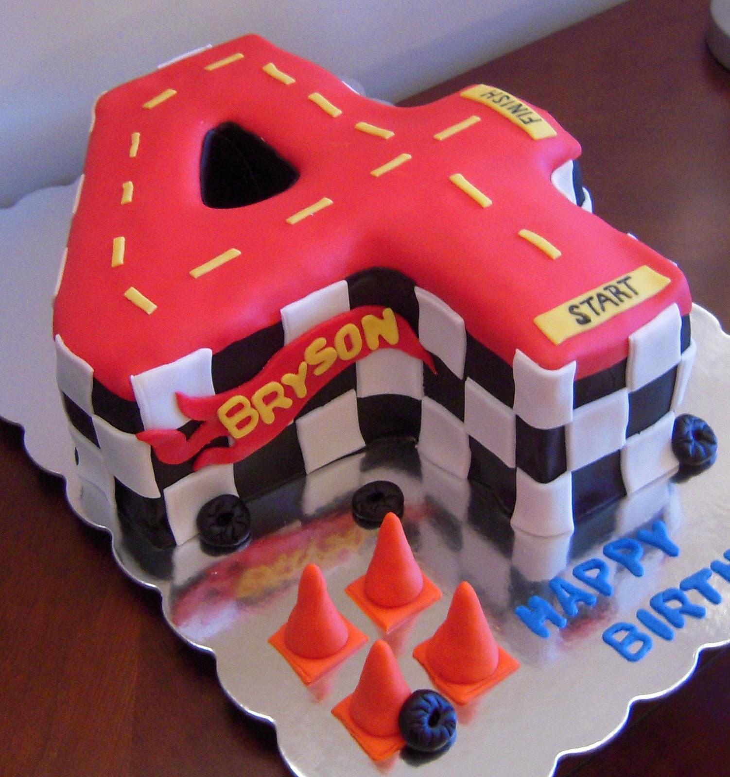 Icing Makes The Cake Hot Wheels Birthday Cake
