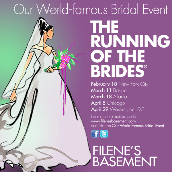 filene's wedding dress sale