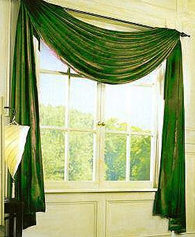 How to make curtain swags - by Janette Peel - Helium