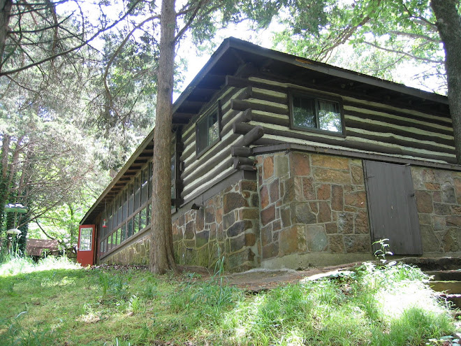 log cabin (before lakeside)