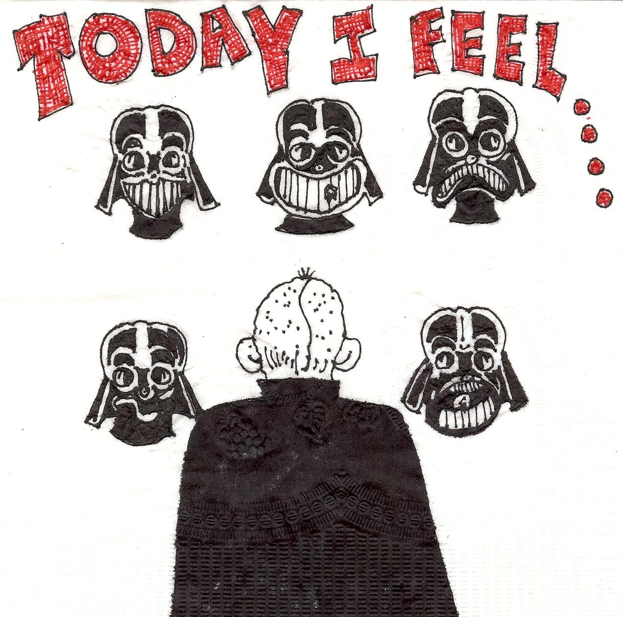 Art Parody Star Wars Parody Napkin Art
