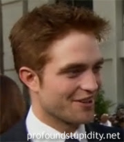 Robert Pattinson Hair Color on Robert Pattinson S Hair Color Is Probably More Red In Person  But
