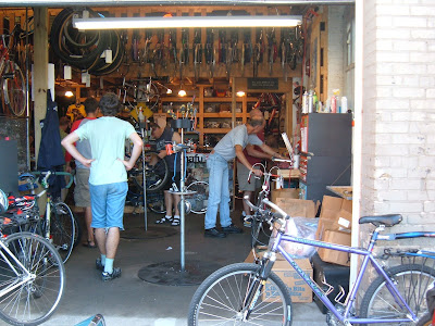 This Place, Which Takes Up Two Adjacent Garages And Also Uses A Large  Basement For Bike Storage, Started A Few Years Ago Out Of The Backs Of Two  Guysu0027 ...