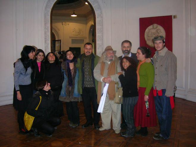 Cierre del evento y entrega del diploma a Alfredo Portillos