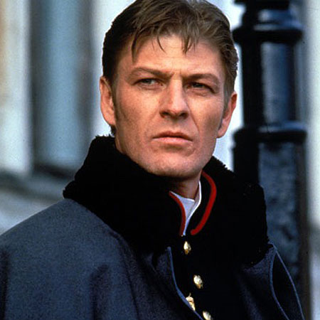 Sean Bean here playing the dashingly handsome Count Vronsky.