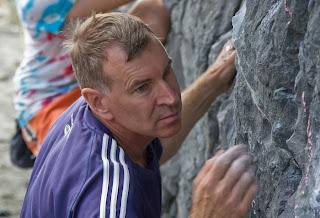 Neil Parker in action near Split Apple Rock