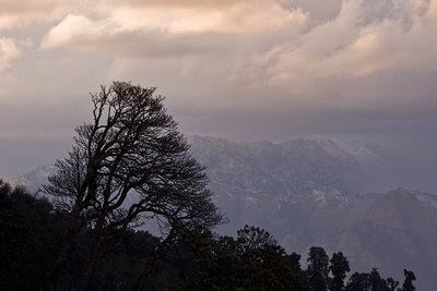 Evening over the Kali Gandaki valley