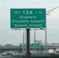 New Jersey Jesus The Garden State Of Mind Exit 13a Nj Turnpike Elizabeth Jesus