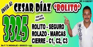 ROLITO Y SU 3325 PARA SER UN GANADOR