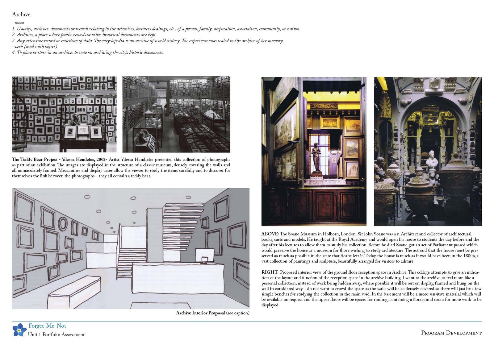 Design Student Portfolio Examples
