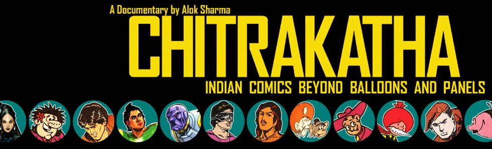 Chitrakatha : Indian Comics Beyond Balloons & Panels