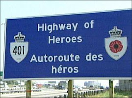 Canada's Highway of Heroes and Route of Heroes