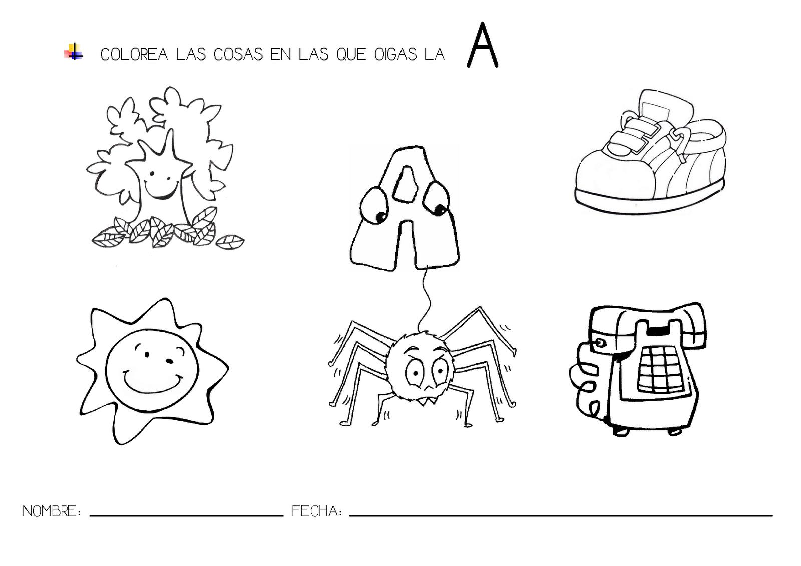 Para Trabajar La Discriminaci  N Visual Y Auditiva De Las Letras