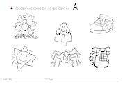 FICHAS DE LETRAS. Fichillas caseras para trabajar la discriminación visual y . discriminaci letras
