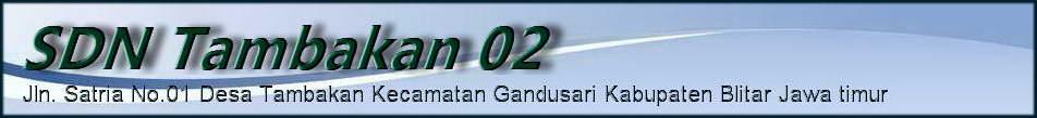 SDN Tambakan 02