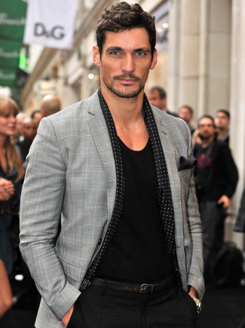 david gandy blog. girlfriend hair david gandy