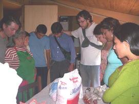Orando en Llahualco (Que bendición)