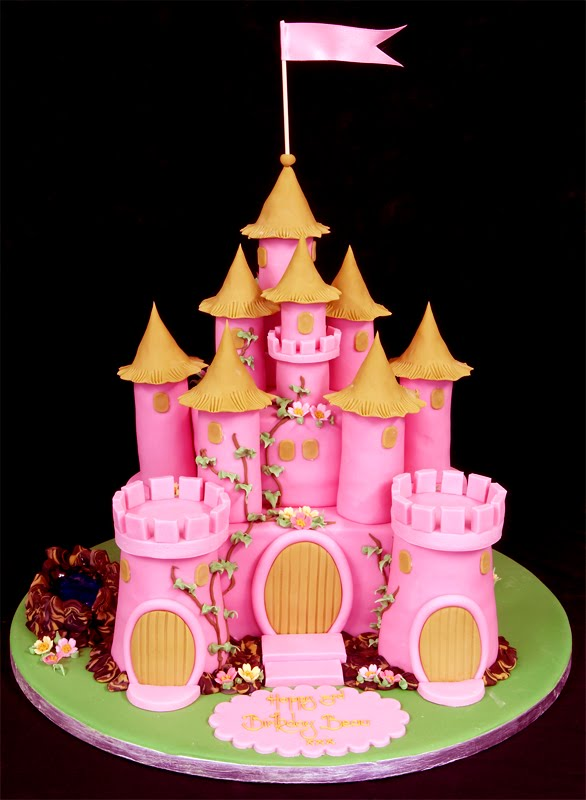 Fairy Castle Cake Topper