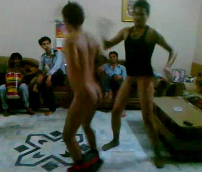 Hot naked guys dancing