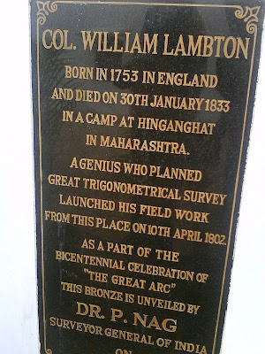 Col. William Lambton, St. Thomas  Mount