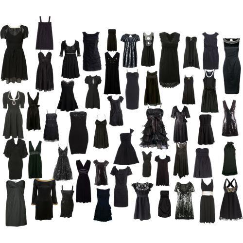 classic black dress on The Little Black Dress