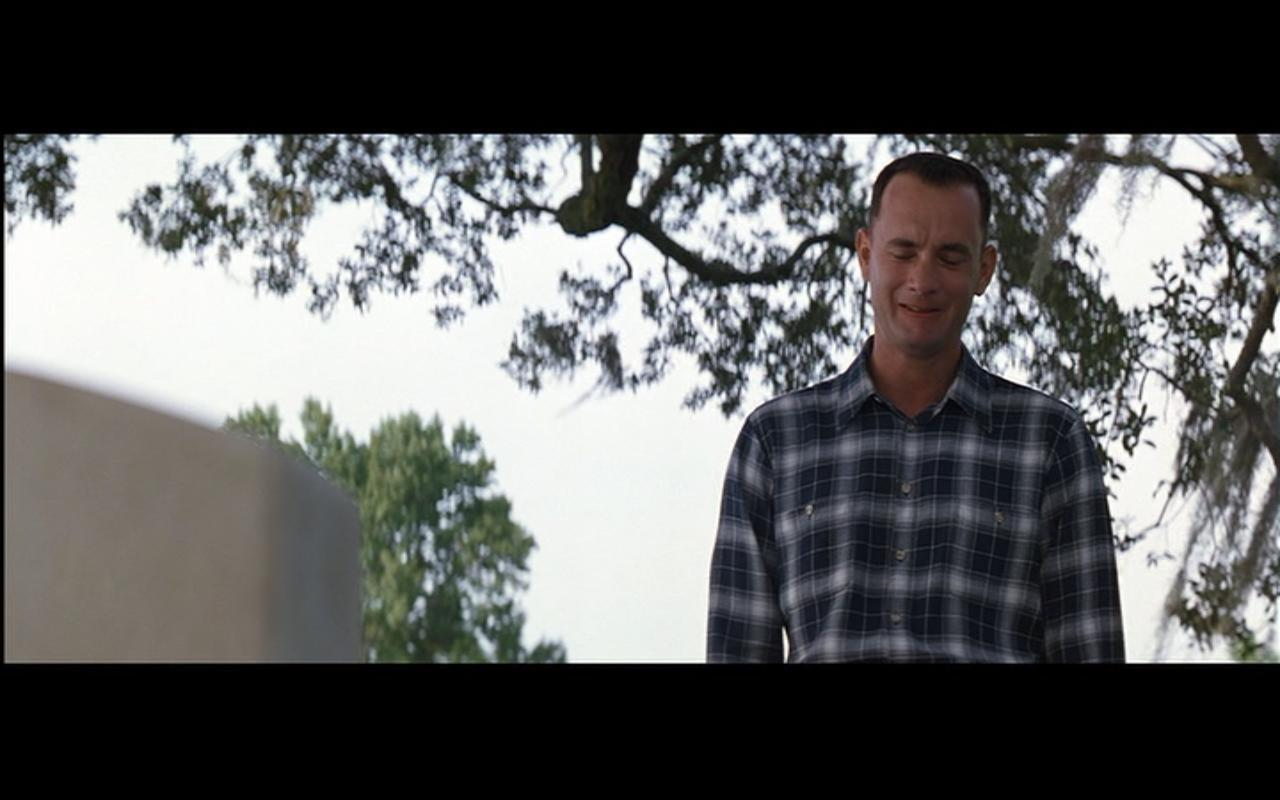 forrest gump what does normal mean anyway kid in the front row film blog