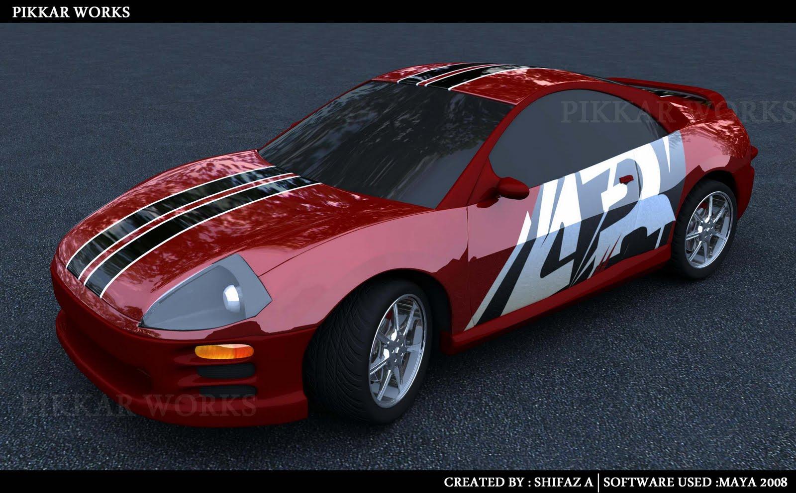 car modelling in maya pdf