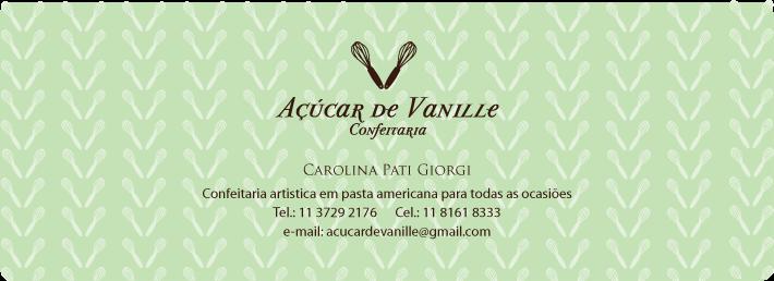 Açucar de Vanille - Carolina Giorgi