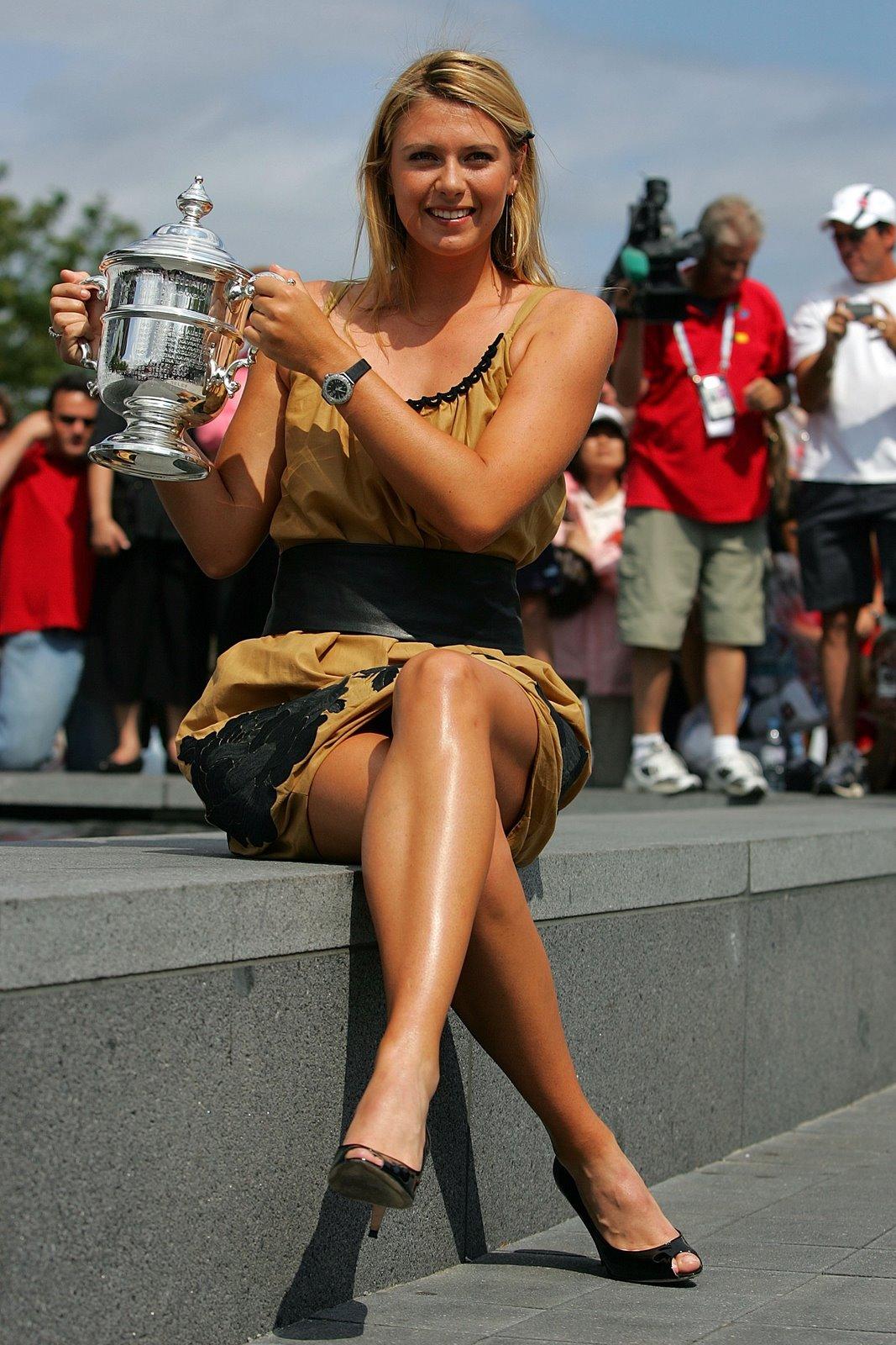 Maria Sharapova Sexy Legs