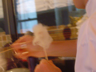 foie gras cotton candy