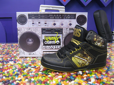 Exact-Science Osiris High Top (Black/Gold/Ghettoblater pictures)