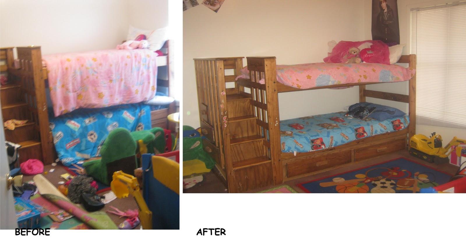 Kids cleaning bedroom for The clean bedroom