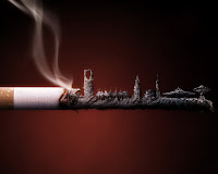 Cigarette Wallpaper