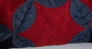 Квилт - простеганная сумочка