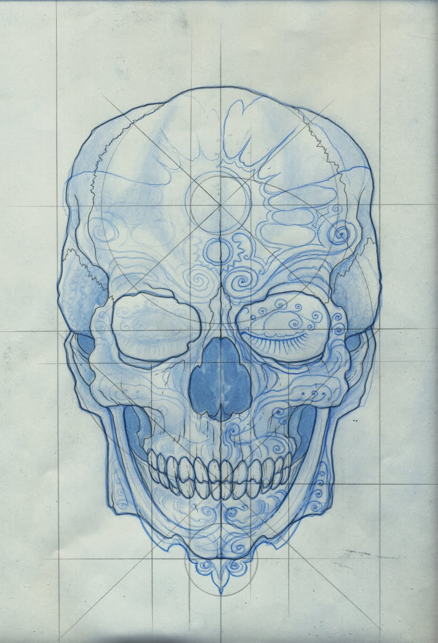 mexican day of the dead skull tattoo designs. Black Bedroom Furniture Sets. Home Design Ideas