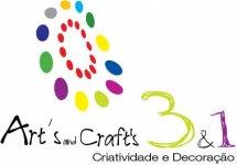 3 em 1 Art's and Craft's Criatividade e Decoração