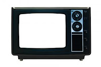 Stock image - old TV