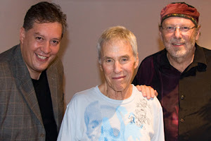 Burt Bacharach with Glenn A. Baker & I