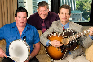 Chris Isaak, Kenny Johnson and I