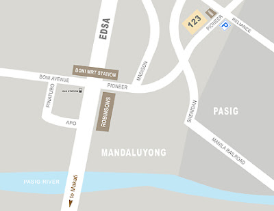 Street Map Of Mandaluyong City