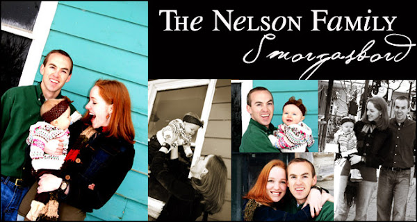 The Nelson Family Smorgasbord