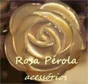 rosa pérola acessórios