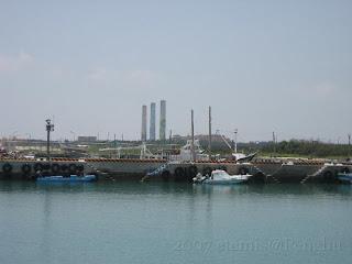 尖山漁港及尖山電廠