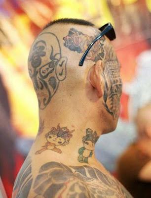 Beijing olympic tattoos