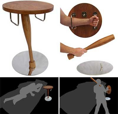 funny furnitures curious29 - �ok �lgin� Masa Sehpa Tasar�mlar�