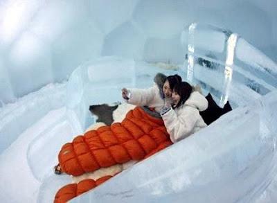 Ice Hotel Japan 04